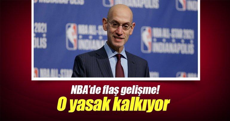 NBA'de o yasak kalkıyor!