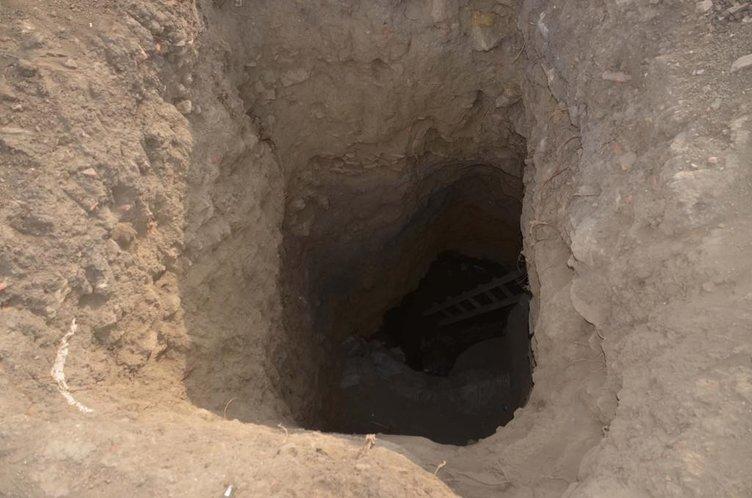 Define aramak için kazılan tüneller köylüleri isyan ettirdi