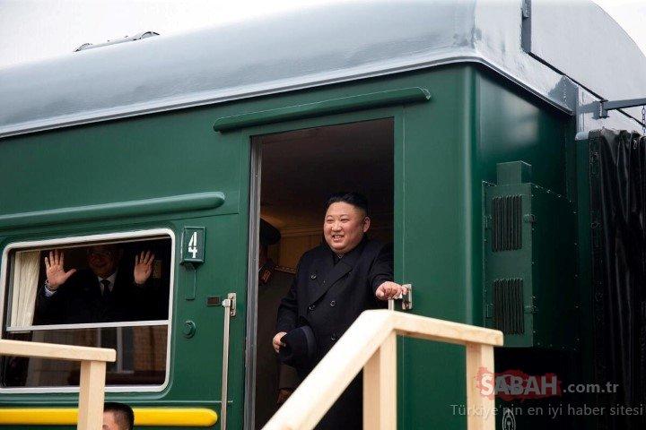Kim Jong Un'un zırhlı treni hakkında bilinmeyenler....
