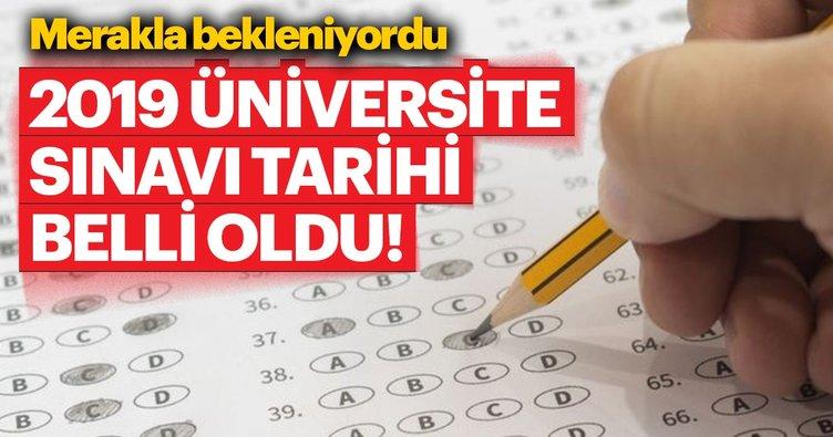 ÖSYM Başkanı açıkladı: Üniversite sınavı tarihleri belli oldu!   2019 YKS sınavı ne zaman yapılacak?