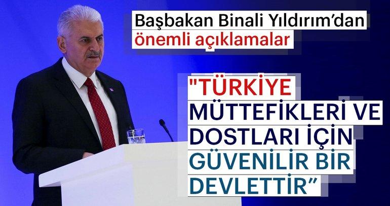 Başbakan Binali Yıldırım Bakü'de önemli açıklamalarda bulundu
