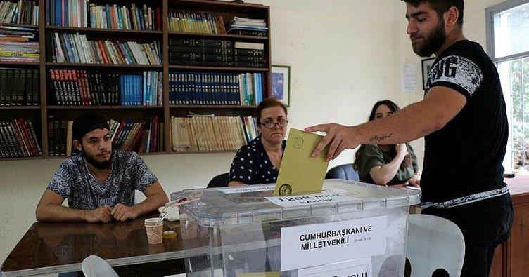 Ermeni köyünde sandık heyecanı