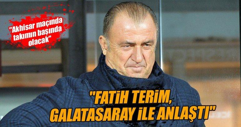 Fatih Terim, Galatasaray ile anlaştı