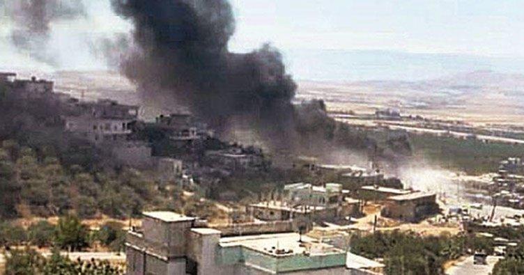 Rejim Hama kırsalına saldırdı