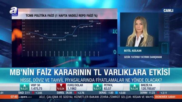 Betül Asilkan: Piyasalar enflasyon rakamlarını yakından takip edecek