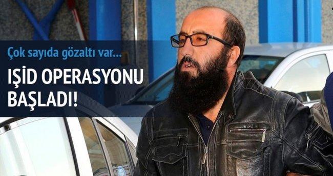 Konya'da IŞİD operasyonu!