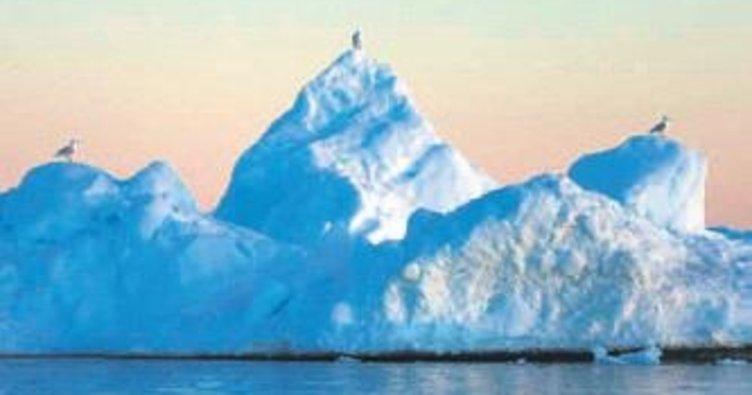 Dev buzul kopmak üzere