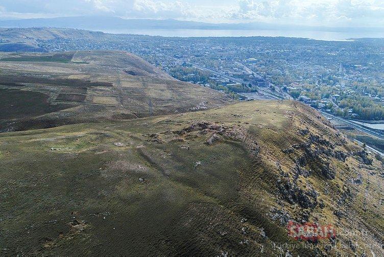 Doğu Anadolu'da 2600 yıl önce oluşturulmuş toplu konut alanı