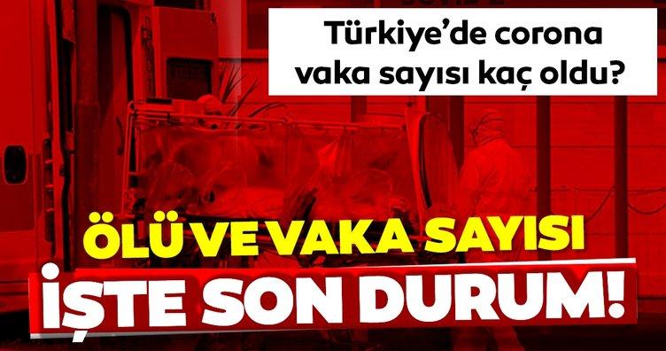 SON DAKİKA HABERİ: Türkiye'de corona virüsü ölü, vaka ve iyileşen hasta sayısı kaç? Fahrettin Koca'dan yeni tip corona virüsü açıklaması!