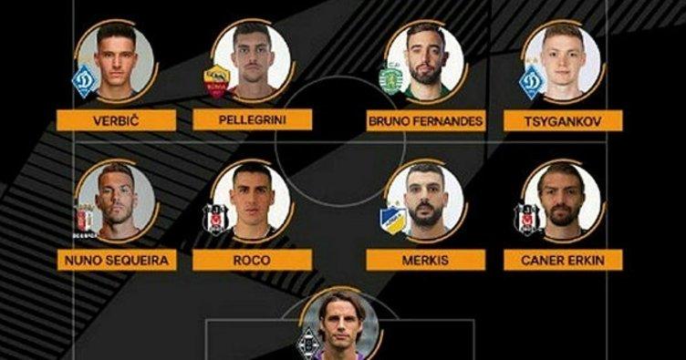 Caner Erkin ve Enzo Roco, UEFA Avrupa Ligi'nde haftanın 11'inde