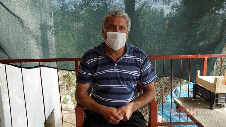 Antalyalı çiftçi hayatının hatasını yaptı, KKKA'ya yakalandı