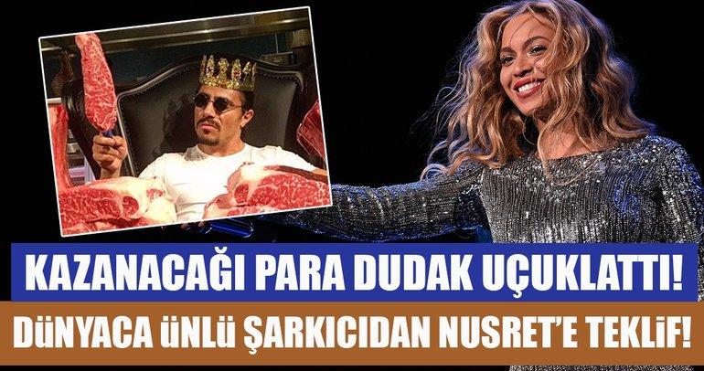 Nusret, Beyonce ve Jay-Z için mangal yapacak