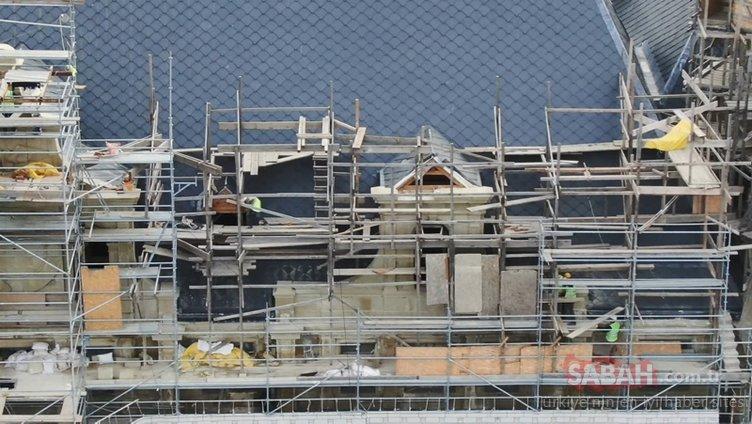 Haydarpaşa'da restorasyon çalışmalarında son durum!