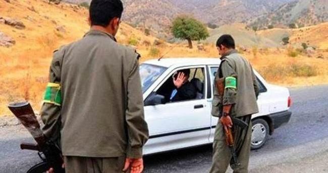PKK'lılar kaçmaya çalışan araca ateş açtı: 1 ölü