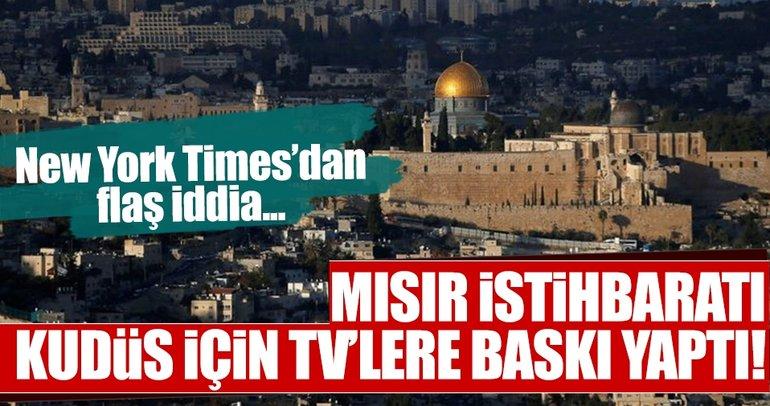 Mısır istihbaratından TV sunucularına Kudüs telefonu iddiası!