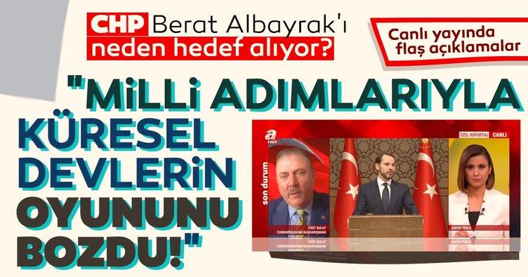 CHP Berat Albayrak'ı neden hedef alıyor? Yiğit Bulut'tan flaş açıklama: Milli adımlarıyla küresel devlerin oyununu bozdu