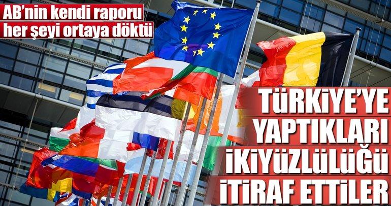 Avrupa Birliği'nin ikiyüzlülüğü kendi raporunda