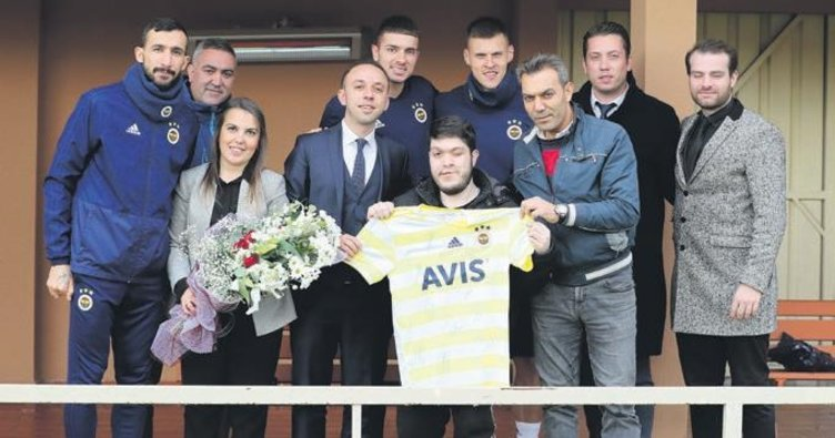 Fenerbahçe aşkıyla ameliyata