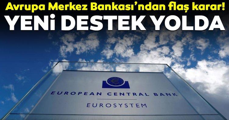 ECB'den yavaşlayan ekonomiyi desteklemek için yeni destek önlemleri!