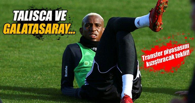 Galatasaray'a Talisca teklifi!