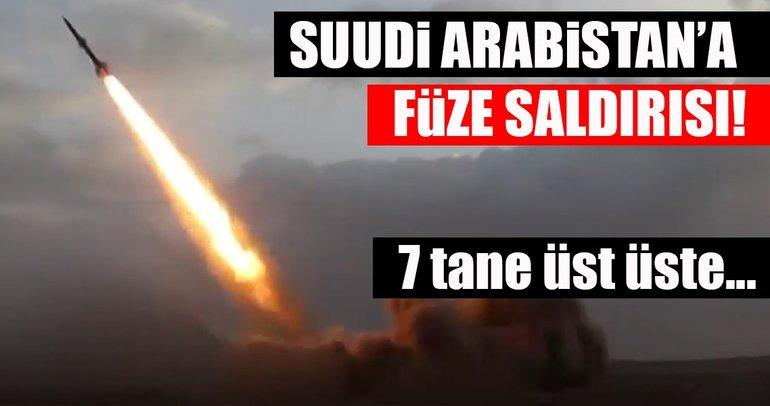 Son Dakika Haberi: Suudi Arabistan'a yönelik balistik füze saldırısı