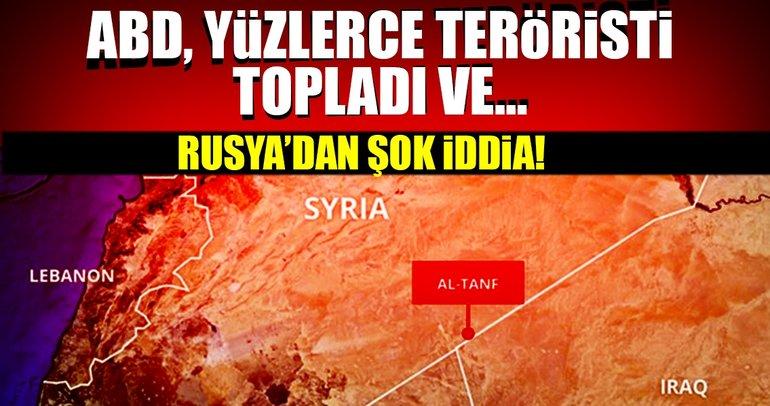 Rusya'dan şok iddia! ABD, yüzlerce teröristi topladı ve...