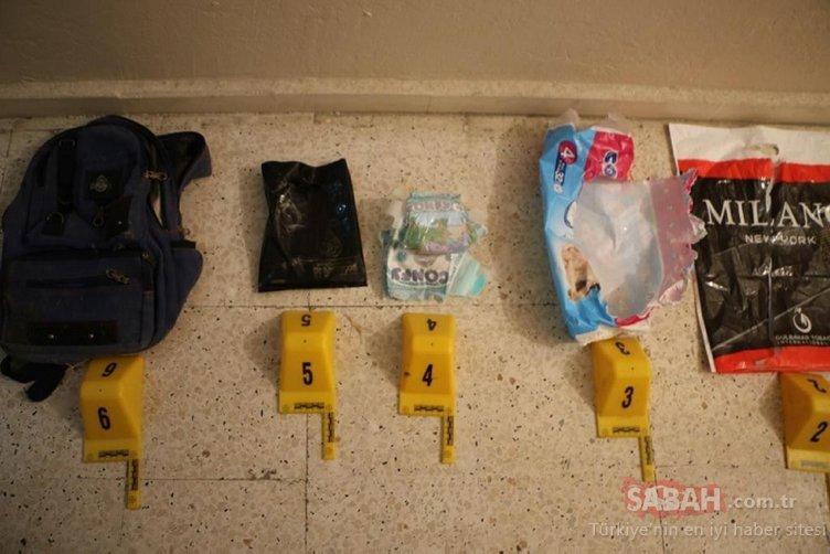 Son dakika haber | PKK'nın kalleş planı ortaya çıktı! Bebek bezleri arasına gizlemişler...