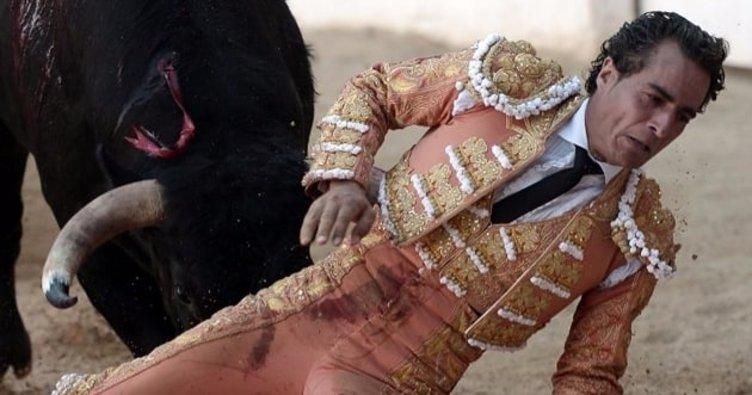 İspanyol matador aldığı boynuz darbesiyle öldü
