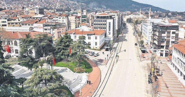 Bursalılar tedbirleri dikkate aldı