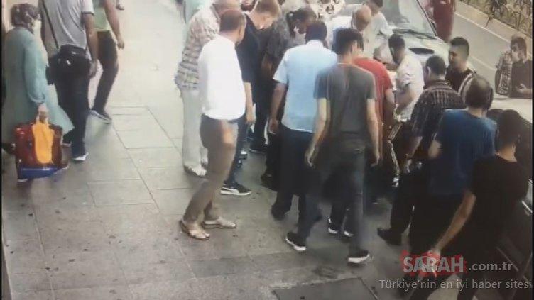 Fatih'teki silahlı çatışmanın görüntüleri ortaya çıktı