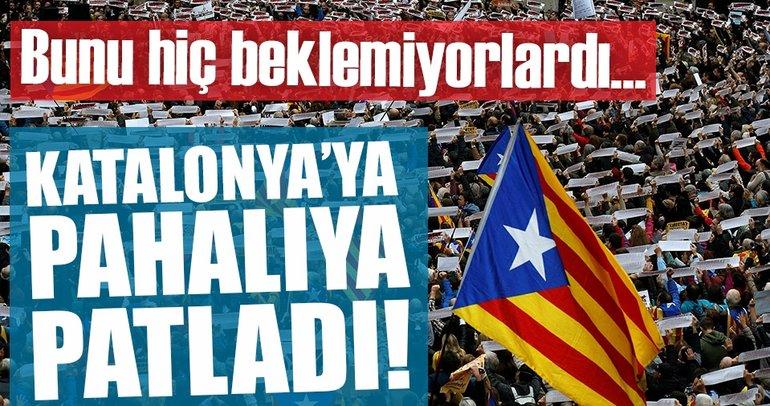 Katalonya'nın bağımsızlık girişimi pahalıya patladı