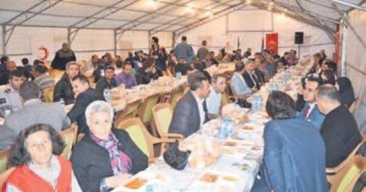 Kızılay şubesinden bin 200 kişiye iftar