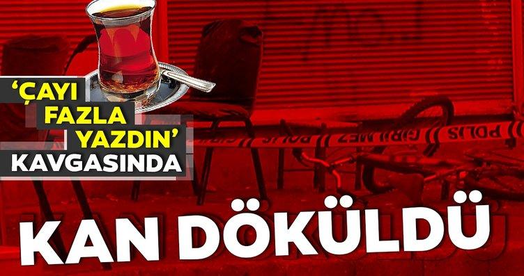 Diyarbakır'da 'çayı fazla yazdın' kavgası: 1'i...