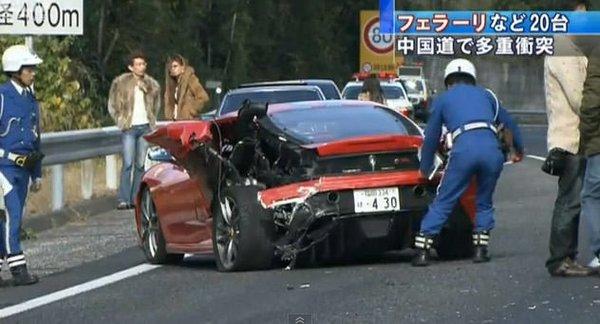 Dünyanın en pahalı kazası