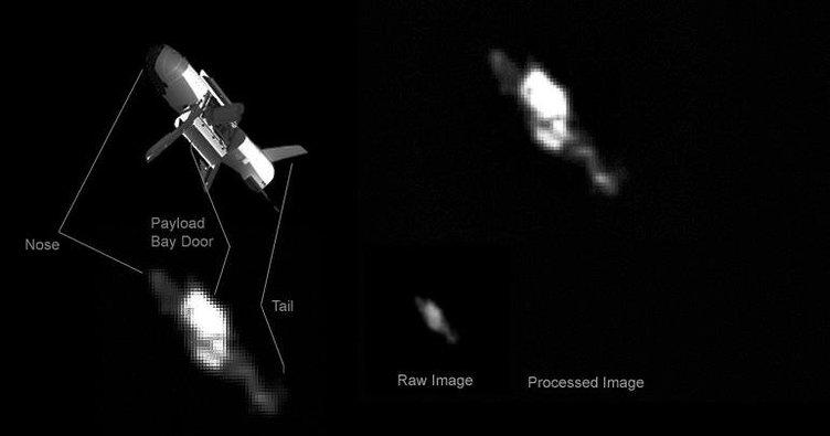 ABD'nin gizli uzay uçağı yakalandı