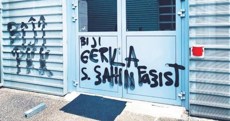 Türk şirketine kimyasal saldırı