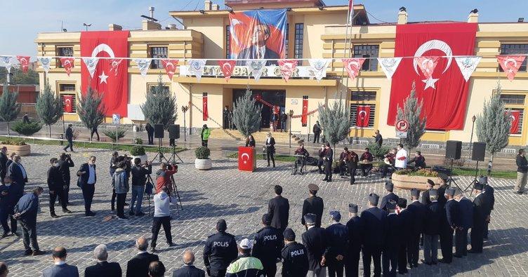 Atatürk'ün Diyarbakır'a gelişinin 83.yıl dönümü törenlerle kutlandı