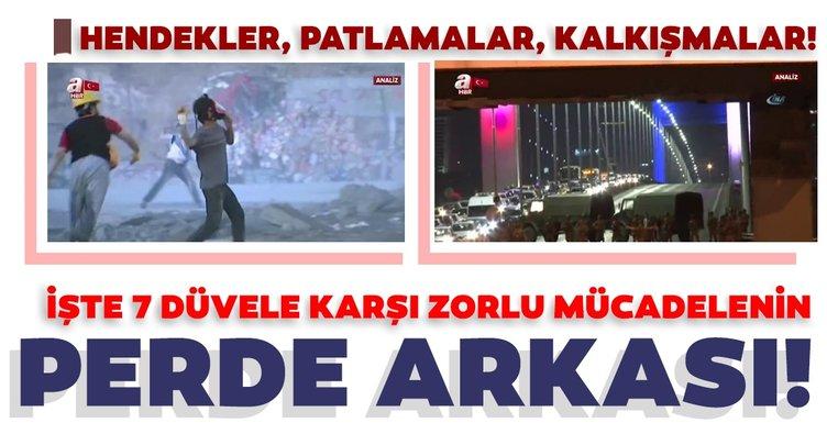 A Haber ihanetin dünü ve bugününü analiz etti: İşte FETÖ-PKK-DEAŞ-DHKP-C'nin Türkiye'ye verdiği zararlar