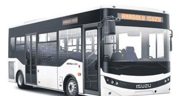 Türk malı otobüsler Polonya yolunda