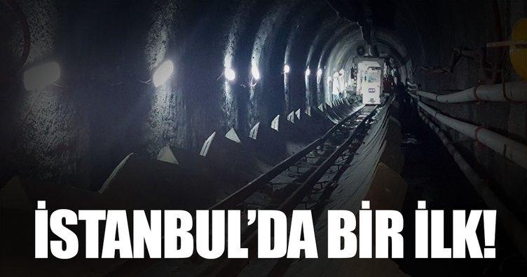 İstanbul'un ilk içme suyu tüneli