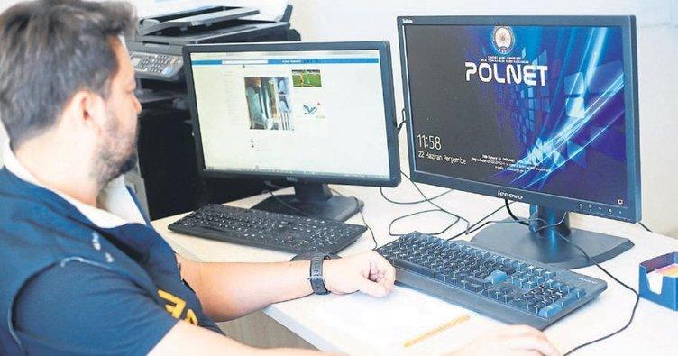 Siber polis sanal devriyede