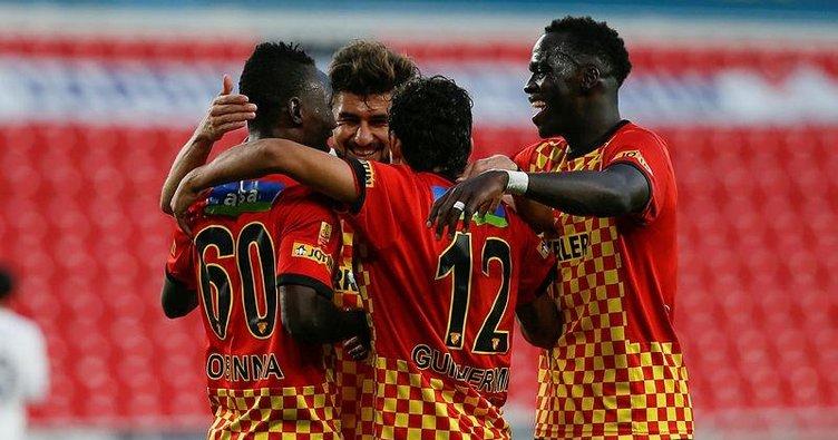 Göztepe'den rahat galibiyet! Göztepe 3-1 Ankaragücü