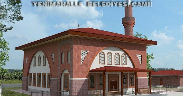 Yenimahalle'ye 750 kişilik cami yapılacak