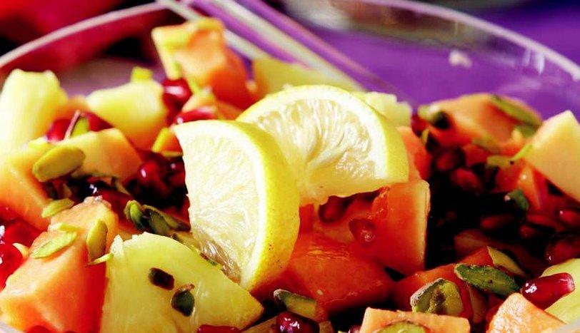 Papayalı Meyve Salatası