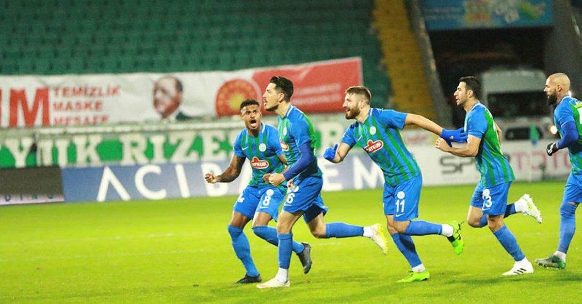 Çaykur Rizespor 2-1 Antalyaspor (Maç Sonucu) - Son Dakika Spor Haberleri