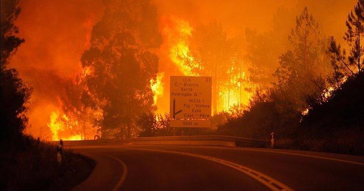 Portekiz'deki orman yangınında bilanço artıyor: 63 ölü, 135 yaralı!