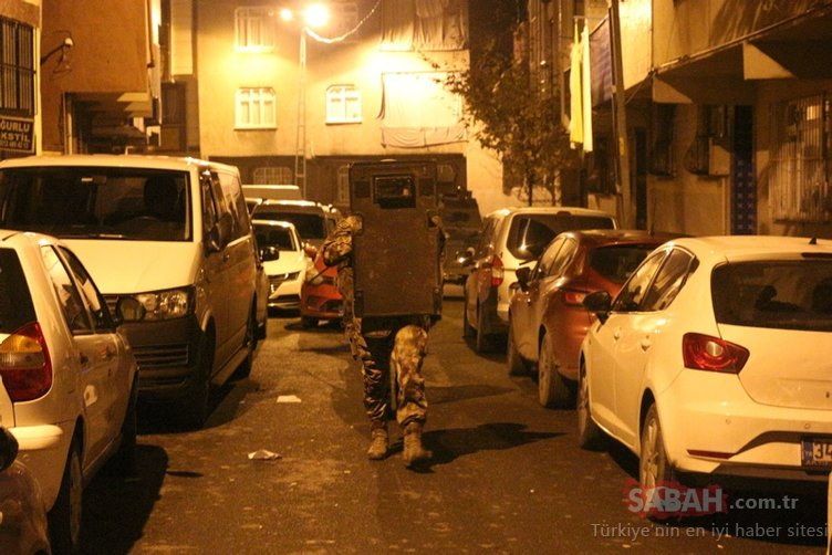 İstanbul'da uyuşturucu satıcılarına operasyon: Çok sayıda gözaltı var
