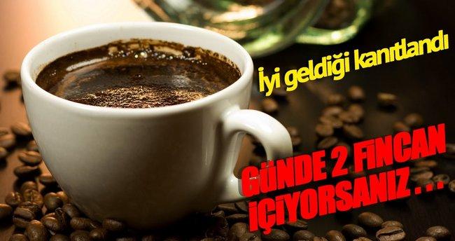 İki fincan kahve unutkanlığa birebir