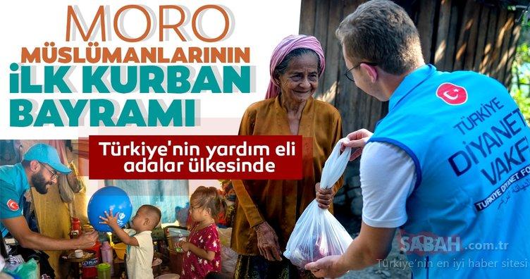 Türkiye'nin yardım eli adalar ülkesinde!