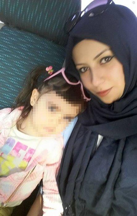 6 yaşındaki kızının yanında başından vurulan kadın yaşam savaşı veriyor